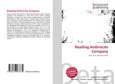 Bookcover of Reading Anthracite Company