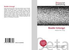 Bookcover of Reader (Liturgy)