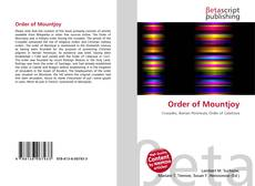 Bookcover of Order of Mountjoy