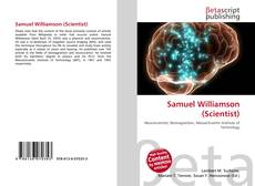 Bookcover of Samuel Williamson (Scientist)