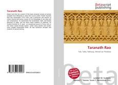 Bookcover of Taranath Rao