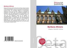 Buchcover von Barbara Ahrons