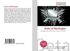 Bookcover of Order of Monfragüe