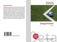 SpVgg Potsdam kitap kapağı
