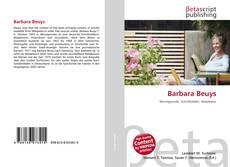 Capa do livro de Barbara Beuys
