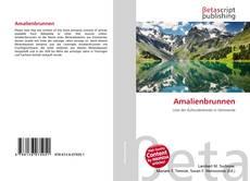 Bookcover of Amalienbrunnen