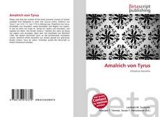 Buchcover von Amalrich von Tyrus