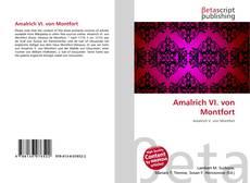 Bookcover of Amalrich VI. von Montfort