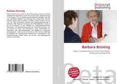 Portada del libro de Barbara Brüning