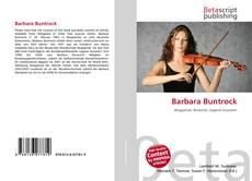 Couverture de Barbara Buntrock