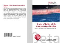 Bookcover of Order of Battle of the Attack on Pearl Harbor