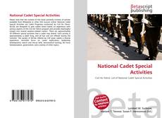 Portada del libro de National Cadet Special Activities