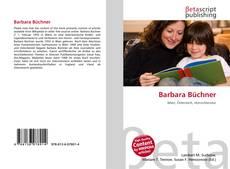 Portada del libro de Barbara Büchner