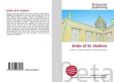 Order of St. Vladimir kitap kapağı