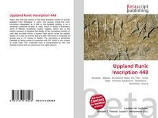 Uppland Runic Inscription 448的封面