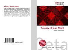 Bookcover of Amancy (Rhône-Alpes)