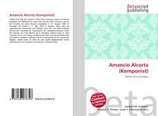 Amancio Alcorta (Komponist) kitap kapağı