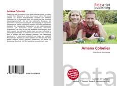 Buchcover von Amana Colonies