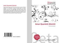 Borítókép a  Amar Quartett (Zürich) - hoz