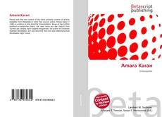 Amara Karan kitap kapağı