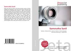 Samvrutha Sunil的封面