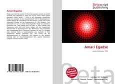 Обложка Amari Egadse