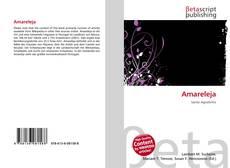 Bookcover of Amareleja
