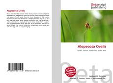 Обложка Alopecosa Ovalis