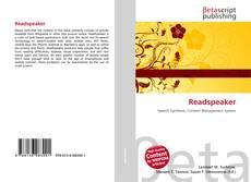 Buchcover von Readspeaker