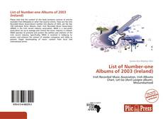 Portada del libro de List of Number-one Albums of 2003 (Ireland)