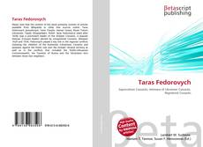 Bookcover of Taras Fedorovych