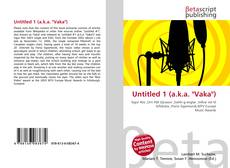 """Bookcover of Untitled 1 (a.k.a. """"Vaka"""")"""