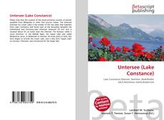 Bookcover of Untersee (Lake Constance)