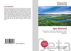 Upo Wetland kitap kapağı