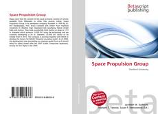Bookcover of Space Propulsion Group