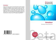 Bookcover of Amateur