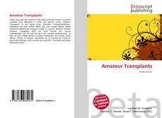 Buchcover von Amateur Transplants