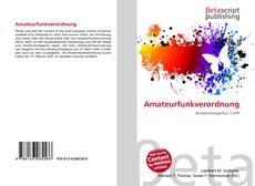 Capa do livro de Amateurfunkverordnung