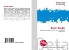 Couverture de Robin Zander