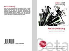 Capa do livro de Amau-Erklärung