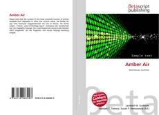Capa do livro de Amber Air