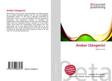 Capa do livro de Amber (Sängerin)
