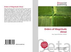 Bookcover of Orders of Magnitude (Area)
