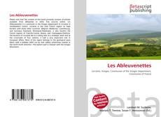 Bookcover of Les Ableuvenettes