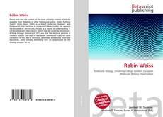 Portada del libro de Robin Weiss