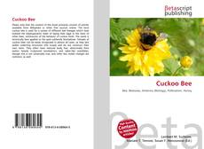 Bookcover of Cuckoo Bee