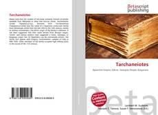 Обложка Tarchaneiotes