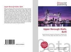 Upper Borough Walls, Bath kitap kapağı