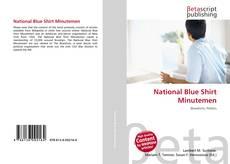 Bookcover of National Blue Shirt Minutemen