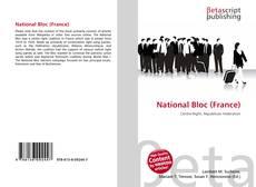 Buchcover von National Bloc (France)